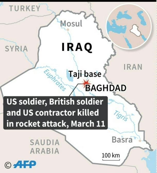 """El Pentágono advierte """"todas las opciones sobre la mesa"""" después de que los estadounidenses fueron asesinados en Irak - 5a5d6b91 photo2 610"""