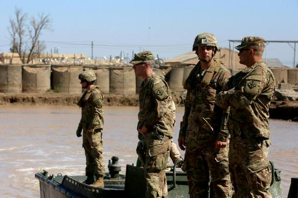 """El Pentágono advierte """"todas las opciones sobre la mesa"""" después de que los estadounidenses fueron asesinados en Irak - 9f5d5583 photo1 610"""